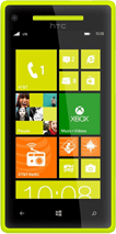 HTC Windows Phone 8X zuti