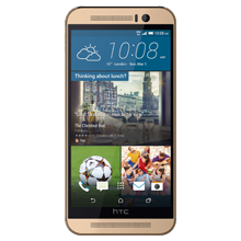 HTC One M9 zlatni